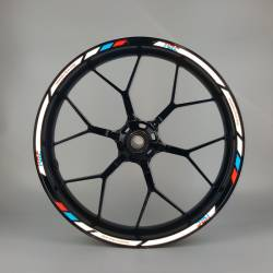 Honda hrc 250r Fireblade vtr rvt  vfr light reflective wheel rim stripes