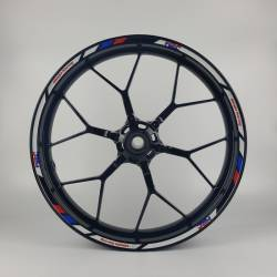 Honda hrc 125r 600rr 900rr 1000rr light reflective wheel rim stripes
