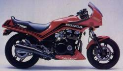 Honda cbx750f 1984 red restoration decals