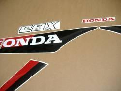 Honda cbx 750 rc17 1985 silver graphics kit