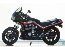 Honda cbx 750 f2 rc17 1986 black graphics set