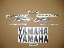 Yamaha r1 2002 2003 5pw rn09 carbon transfers kit
