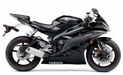Yamaha r6 2co rj11 2006 2007 black schwarz aufkleber