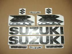 Suzuki gsxr 1000 camouflage verde autocollants