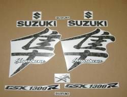 Suzuki Hayabusa camouflage green adhesives set