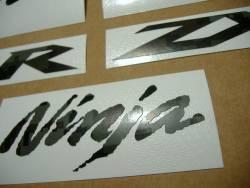 Kawasaki Ninja ZX10R army military green graphics logo