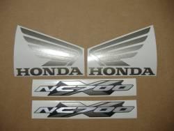Honda NC700X 2013 silver decals set