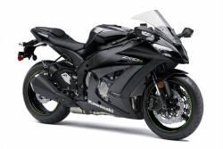 Kawasaki ZX10R Ninja 2015 black decals kit