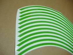 Kawasaki Ninja green rim stripes kit