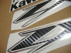 Kawasaki ZX12R Ninja carbon logo graphics