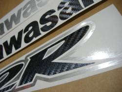 Kawasaki ZX12R Ninja carbon fiber sticker kit