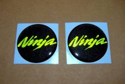 Kawasaki Ninja 3D emblems and stickers