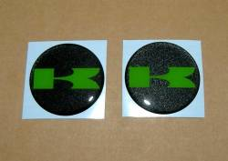 Kawasaki 3D gas tank badges
