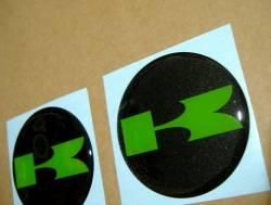 Kawasaki 3D gas tank emblems