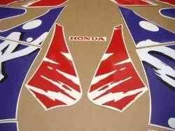 Honda Fireblade SC28 1992 white stickers set