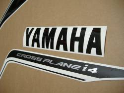 Yamaha R1 14b 2014 red full decals kit