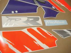 Honda Fireblade SC28 1993 black orange decals