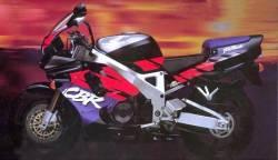 Honda Fireblade 893 1993 black-orange decals