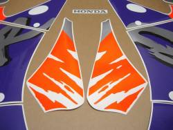 Honda CBR 893 SC28 1993 orange full decals kit