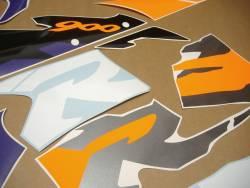 Honda Fireblade SC33 1996 grey orange stickers kit