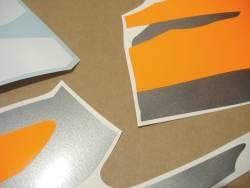 Honda CBR 900RR 1996 grey orange adhesives