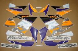 Honda CBR 919RR SC33 1996 grey orange decals