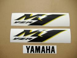 Yamaha R1 M1 MotoGP logo decal kit